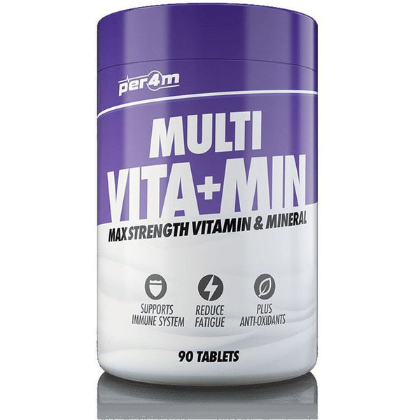Per4m Nutrition Multi Vita + Min 90 Tabs - Supplements-Direct.co.uk