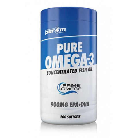 Per4m Nutrition Pure Omega 3 200 Tabs - Supplements-Direct.co.uk