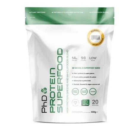 PhD - Protein Superfood - 500g - Supplements-Direct.co.uk