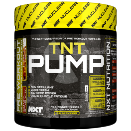 NXT NUTRITION TNT NUCLEAR PUMP 500G - Supplements-Direct.co.uk