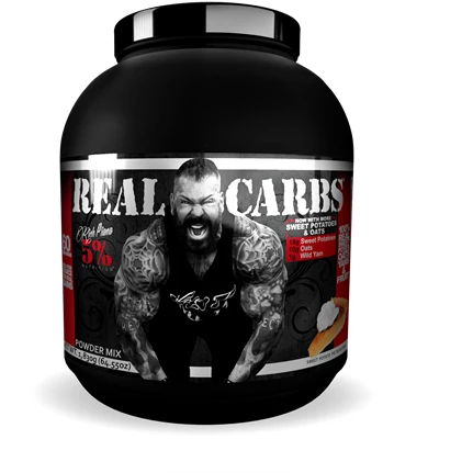 5% Rich Piana - Real Carbs - Real Food 1.8kg - Supplements-Direct.co.uk