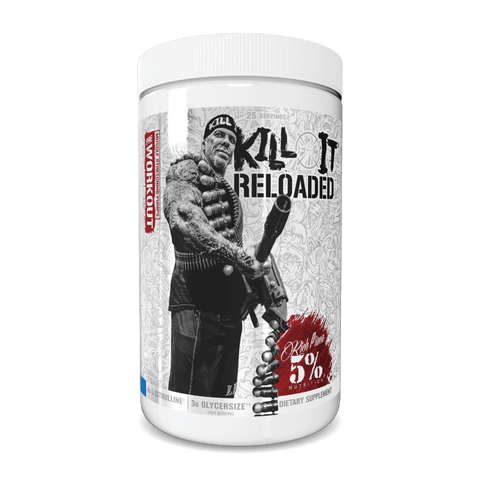 Rich Piana 5% Nutrition Kill It Reloaded Legendary Series US. 30 Servings - Frost Bite - GymSupplements.co.uk