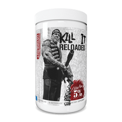 Rich Piana 5% Nutrition Kill It Reloaded Legendary Series US. 30 Servings - Blue Raspberry - GymSupplements.co.uk