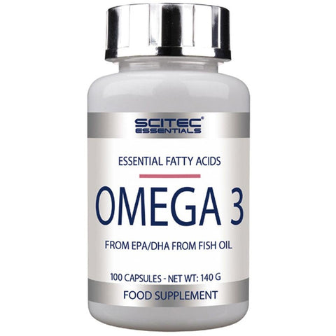 Scitec Nutrition Omega 3 (100 Caps) - Supplements-Direct.co.uk