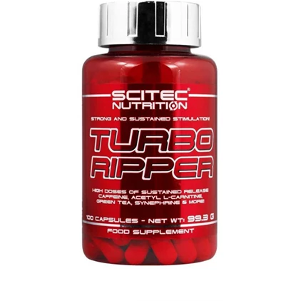 Scitec Nutrition Turbo Ripper - Fat Burner - GymSupplements.co.uk