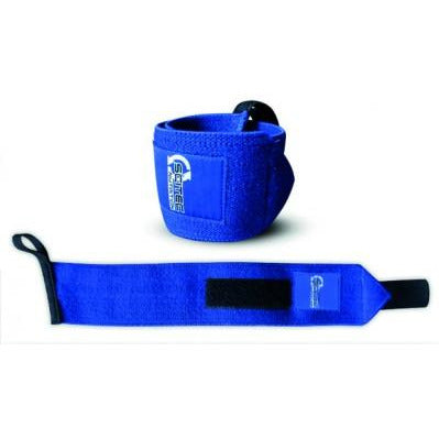 SCITEC WRIST WRAPS - BLUE - Supplements-Direct.co.uk
