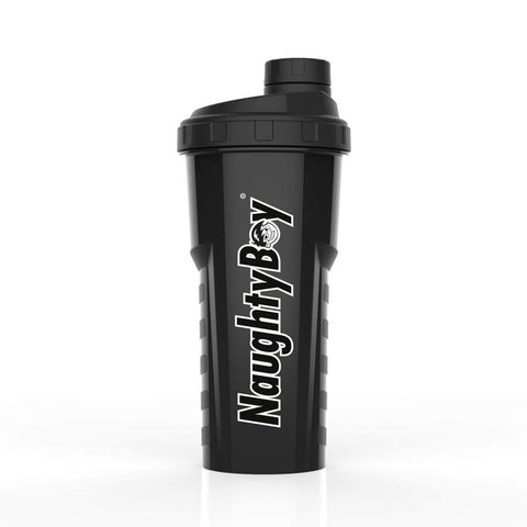 Naughty Boy Classic Shaker 750ml - Black - GymSupplements.co.uk