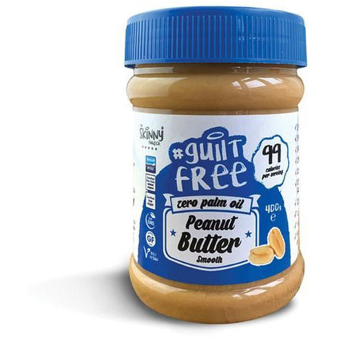 Skinny Peanut Butter 100% Pure - Smooth - 400g - Supplements-Direct.co.uk