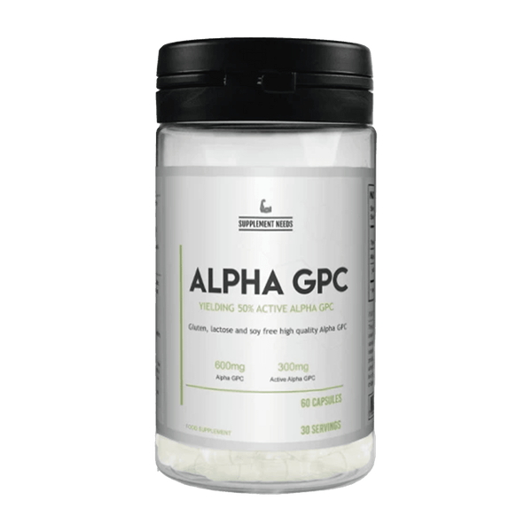 Supplement Needs Alpha GPC 30 Servings - GymSupplements.co.uk