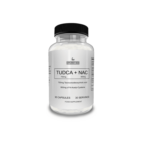 Supplement Needs TUDCA + NAC 90 Caps - GymSupplements.co.uk