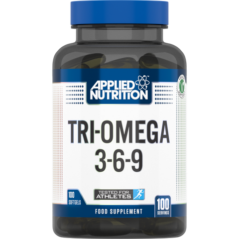 Applied Nutrition Tri-Omega 3-6-9 (100 Softgels) - Supplements-Direct.co.uk