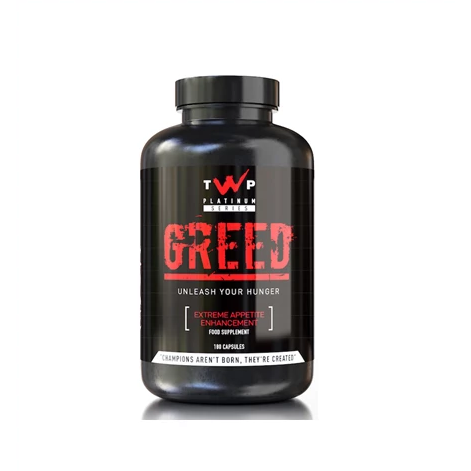 TWP Nutrition Greed - 180 Capsules - GymSupplements.co.uk