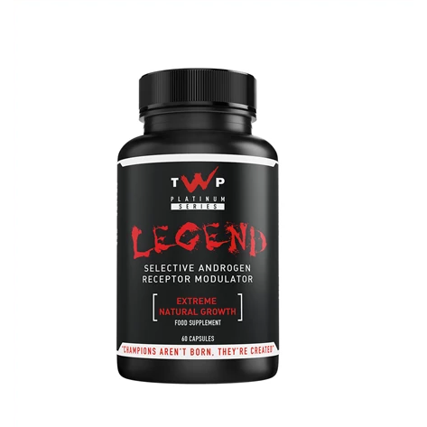 TWP Nutrition - Legend (Lingandrol SARM) - 60 Caps - Supplements-Direct.co.uk