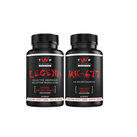 TWP Nutrition Legend / MK-677 Stack - Supplements-Direct.co.uk