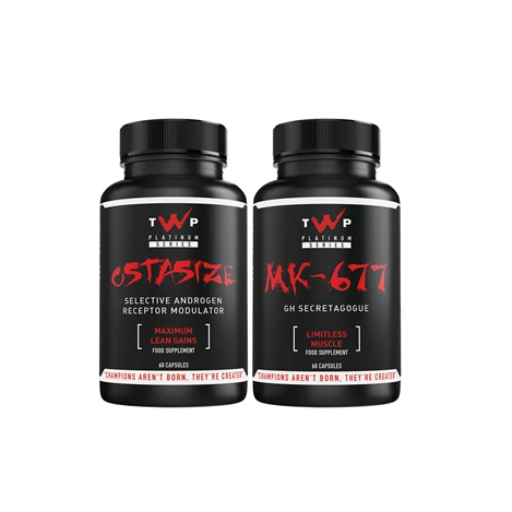 TWP Nutrition - Ostasize / MK-677 Stack - Supplements-Direct.co.uk