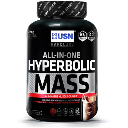 USN Hyperbolic Mass Gainer - 2kg - Supplements-Direct.co.uk