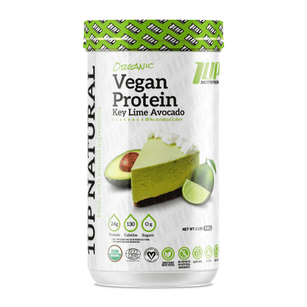 1UP Nutrition Organic Vegan Protein - GymSupplements.co.uk