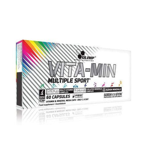 Olimp Nutrition - Vita-min Multiple Sport 60 Mega Caps®/Mega Capsules® - Supplements-Direct.co.uk