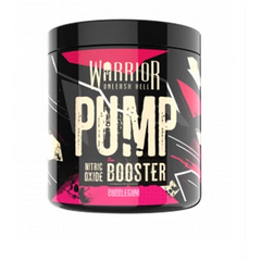 Warrior Pump Nitric Oxide Booster Pre-Workout - Supplements-Direct.co.uk