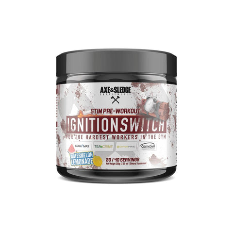 Axe & Sledge Ignition Switch Stim Pre Workout 200G - Supplements-Direct.co.uk