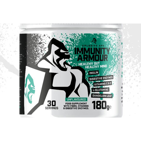 Xplosive Ape  Immunity Armour, Unflavoured - 180 grams - Supplements-Direct.co.uk
