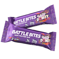 Battle Snacks Battle Bites 1x60g - Single Bar - GymSupplements.co.uk