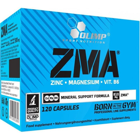 Olimp Nutrition - ZMA 120 caps - Supplements-Direct.co.uk