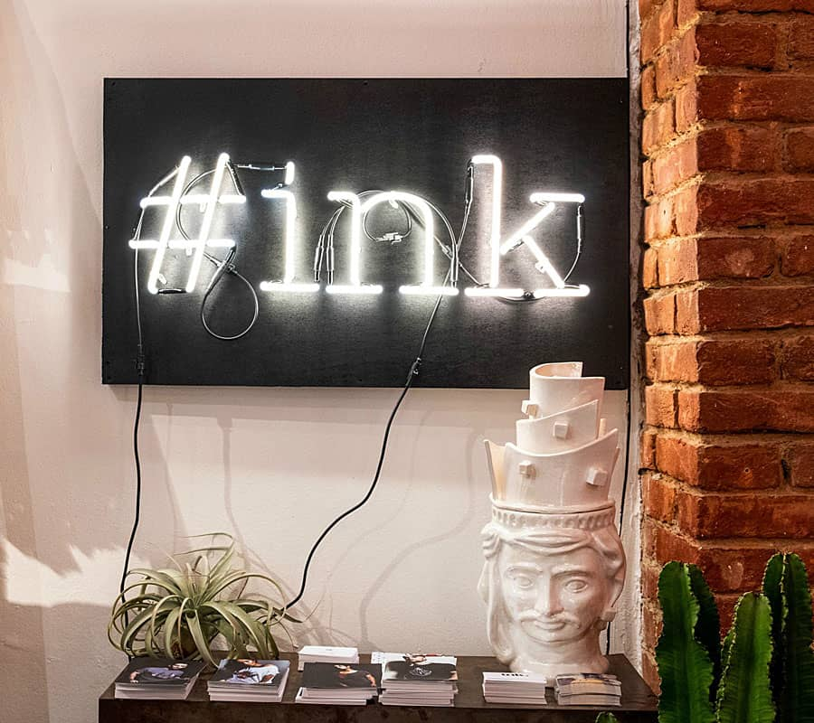 INK. | We Love Art & Fashion | Fuorisalone 2018