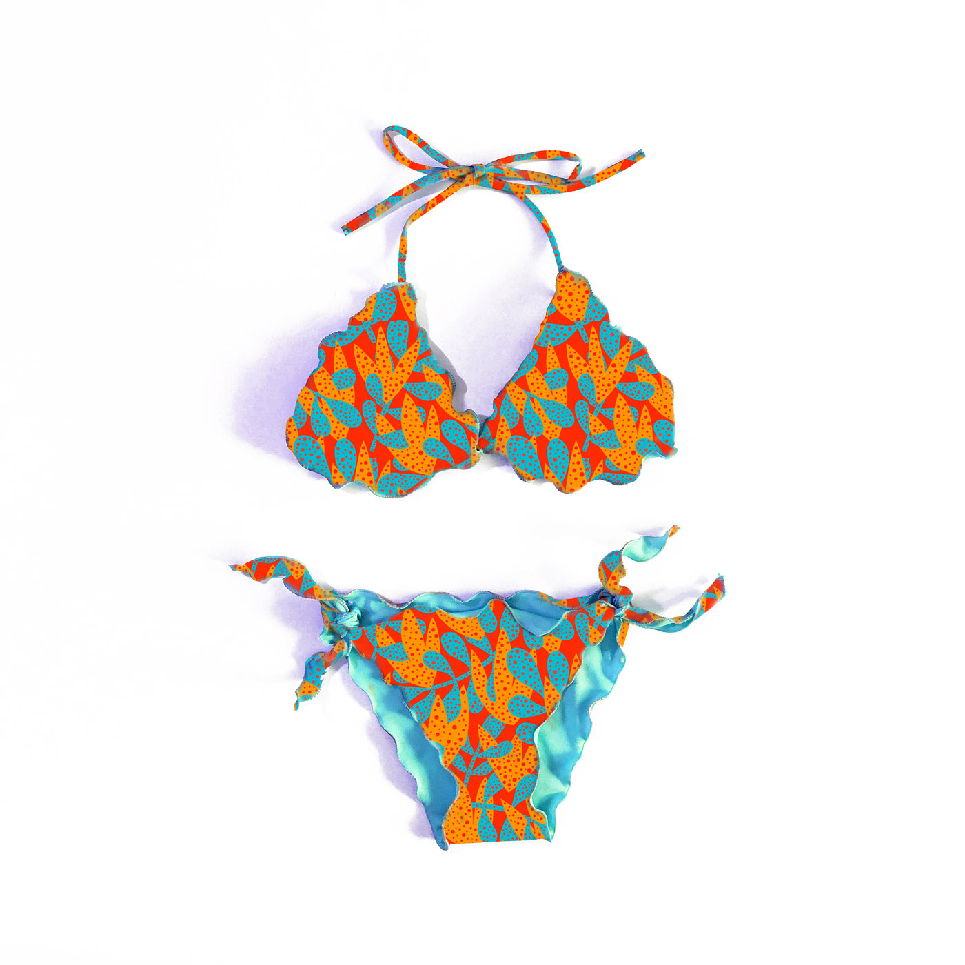 PATTERN 'ORANGE' BIKINI