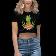 Load image into Gallery viewer, Pineapple, Women's Crop Top