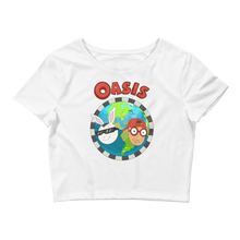 Load image into Gallery viewer, Oasis, Women's Crop Tee