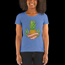 Load image into Gallery viewer, Pineapple, Ladies' short sleeve t-shirt