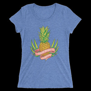Pineapple, Ladies' short sleeve t-shirt