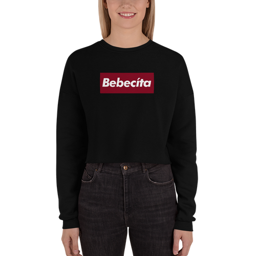 Bebecita, Bella + Canvas 7503 Women's Fleece Crop Sweatshirt