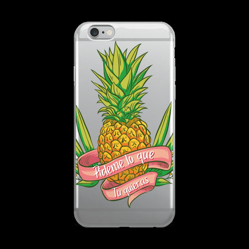 Pineapple, iPhone Case