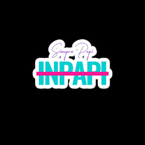 Inpapi, Bubble-free stickers