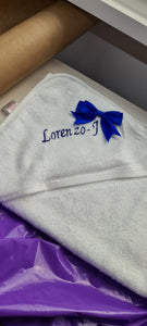 Personalised towel