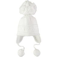 Griffin white Bobble Hat Emile et Rose Sale