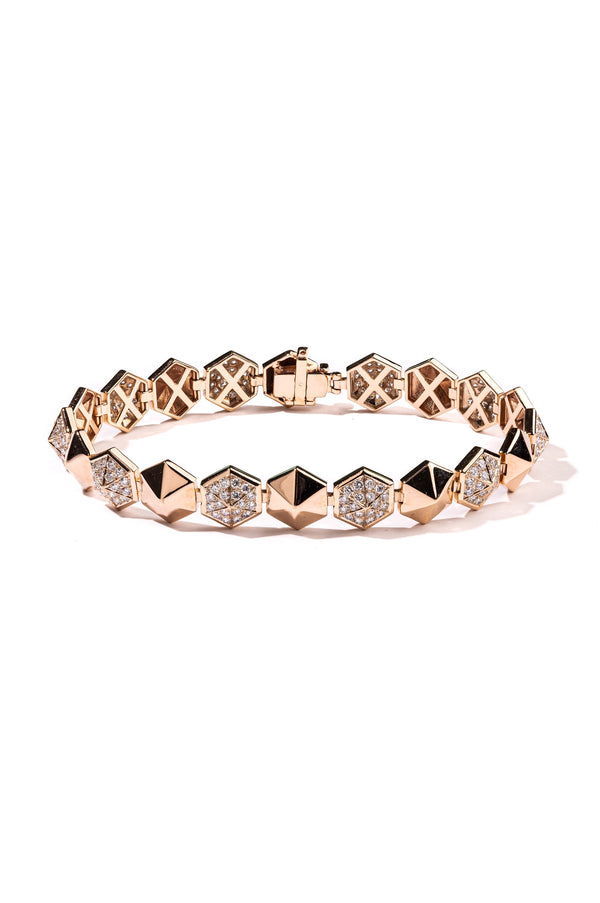 The Hexagon Dome Bracelet