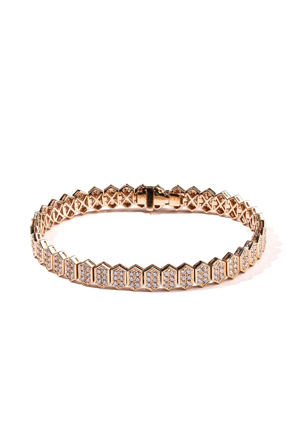 The Hexagon Tile Bracelet