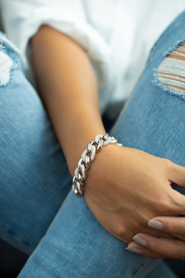 Loaded Chain Bracelet