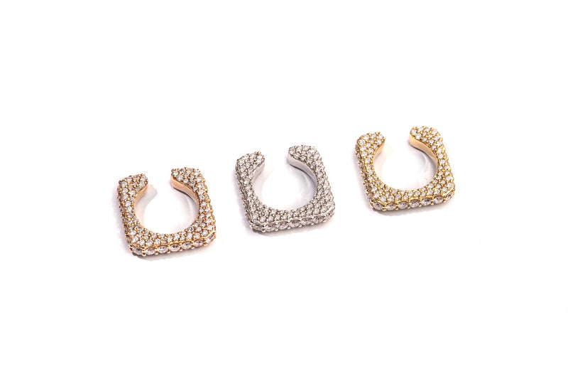 Diamond Square Earcuff