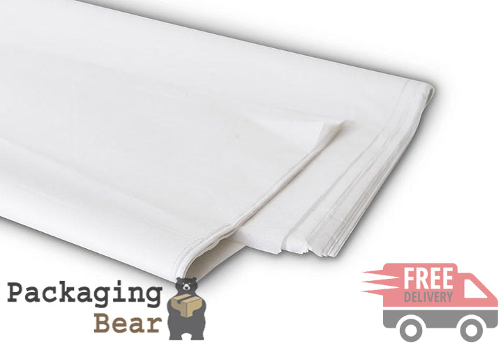 White Acid Free Tissue Paper 500x750mm | FREE Delivery on everything | Packagingbear.co.uk