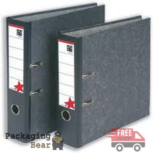 Lever Arch File Folder (Black) Packagingbear.co.uk