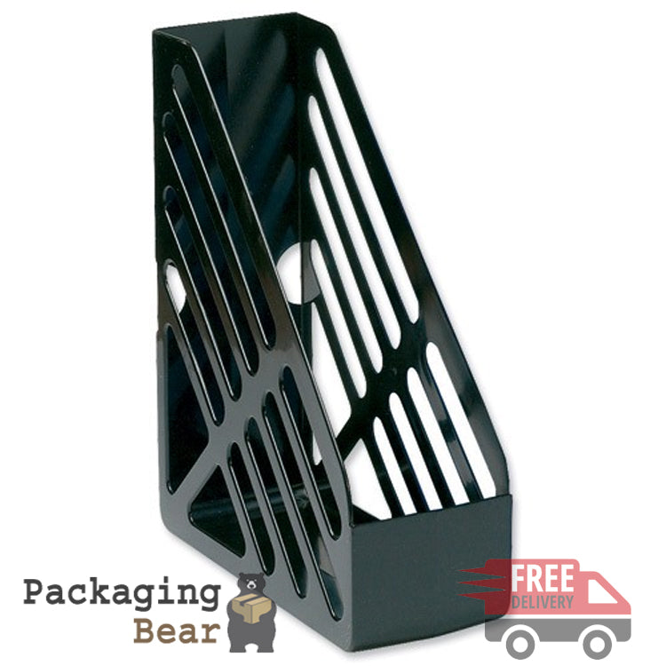 Black Plastic File Rack | Packagingbear.co.uk