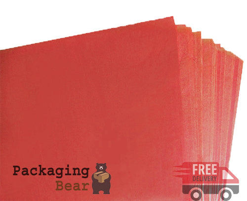 Burgundy Acid Free Tissue Paper 375x500mm | Packagingbear.co.uk