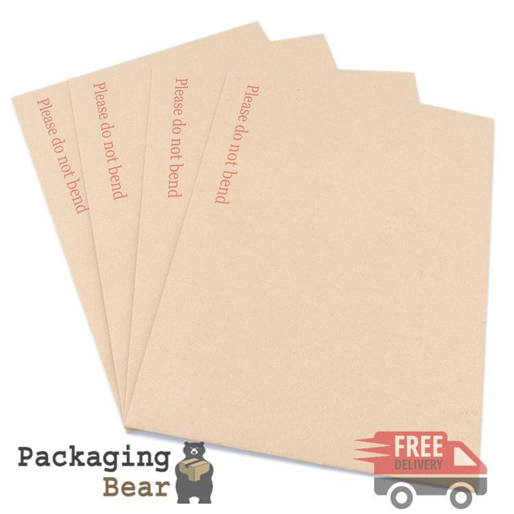 C4 A4 Size Board Back Backed Envelopes 324x229mm | Packagingbear.co.uk