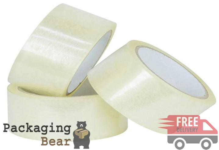 Clear Packaging Tape 48mm x 50M | Packagingbear.co.uk