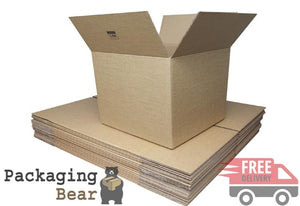 9x6x6 Single Wall Cardboard Box | Packagingbear.co.uk