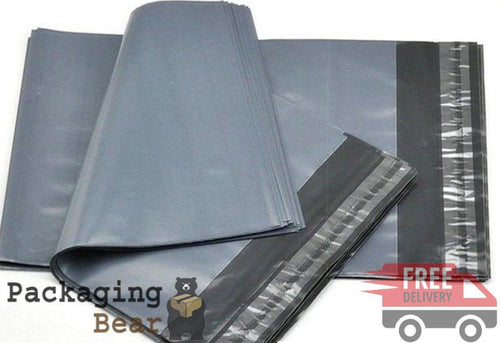Grey Postage Poly Mailing Bags 6